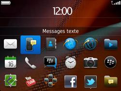 BlackBerry 9900 Bold Touch - SMS - Configuration manuelle - Étape 3