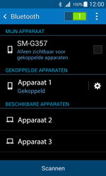 Samsung G357 Galaxy Ace 4 - Bluetooth - headset, carkit verbinding - Stap 8