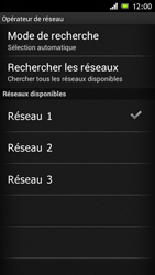Sony ST26i Xperia J - Réseau - utilisation à l'étranger - Étape 13