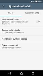 Sony Xperia XA1 - Red - Seleccionar el tipo de red - Paso 6