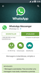 NOS SLIM - Aplicações - Como configurar o WhatsApp -  5