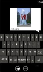 HTC 7 Trophy - MMS - Envoi d