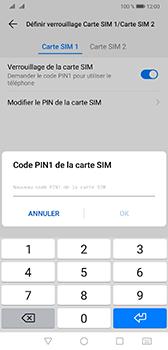 Huawei Mate 20 - Sécurité - modifier SIM PIN - Étape 11