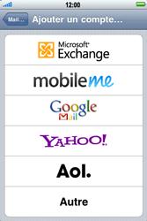 Apple iPhone 3G S - E-mail - Configuration manuelle - Étape 5