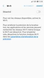Samsung Galaxy S7 - Android Nougat - Wifi - configuration manuelle - Étape 5