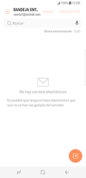 Samsung Galaxy S8 - E-mail - Configurar Outlook.com - Paso 5
