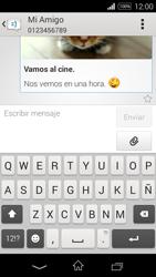Sony D2203 Xperia E3 - Mensajería - Escribir y enviar un mensaje multimedia - Paso 20