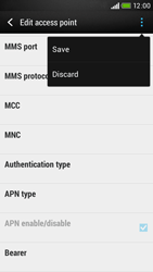 HTC Desire 601 - Internet - Manual configuration - Step 15