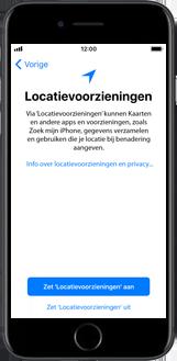 Apple iPhone 6s met iOS 11 (Model A1688) - Instellingen aanpassen - Activeer het toestel en herstel jouw iCloud-data - Stap 23