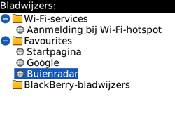 BlackBerry 8520 Curve - Internet - hoe te internetten - Stap 10