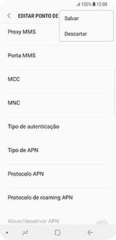 Samsung Galaxy S9 - MMS - Como configurar MMS -  15