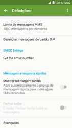 BQ Aquaris U - SMS - Como configurar o centro de mensagens -  9