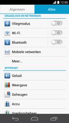 Huawei Ascend P6 (Model P6-U06) - Internet - Uitzetten - Stap 4