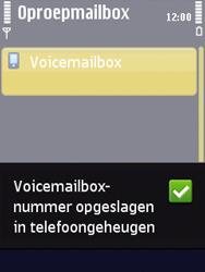 Nokia N86 - Voicemail - Handmatig instellen - Stap 7