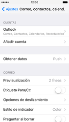 Apple iPhone SE - E-mail - Configurar Outlook.com - Paso 9