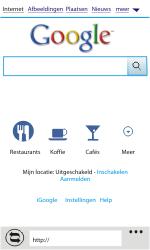 HTC C110e Radar - Internet - Internetten - Stap 6