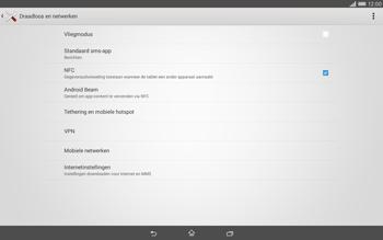 Sony Xperia Tablet Z2 4G (SGP521) - Internet - Uitzetten - Stap 5