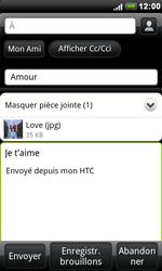 HTC S510e Desire S - E-mail - envoyer un e-mail - Étape 10