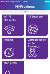 Apple iPhone 4 S iOS 9 - Applications - MyProximus - Étape 20