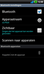LG P920 Optimus 3D Speed - Bluetooth - Headset, carkit verbinding - Stap 7