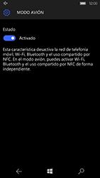 Microsoft Lumia 950 - Funciones básicas - Activar o desactivar el modo avión - Paso 7