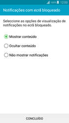Samsung Galaxy Grand Prime - Segurança - Como ativar o código de bloqueio do ecrã -  11