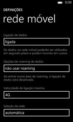 Nokia Lumia 625 - Internet no telemóvel - Como ativar 4G -  7