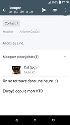 HTC Desire 650 - E-mails - Envoyer un e-mail - Étape 18
