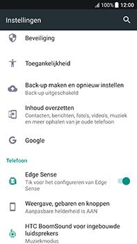 HTC U11 - Toestel reset - terugzetten naar fabrieksinstellingen - Stap 4