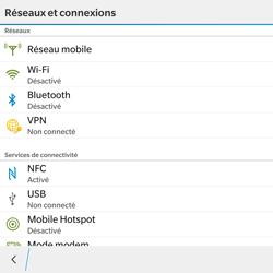 BlackBerry Passport - WiFi et Bluetooth - Configuration manuelle - Étape 5