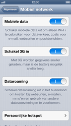 Apple iPhone 5 - Internet - Dataroaming uitschakelen - Stap 5