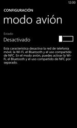 Nokia Lumia 520 - Funciones básicas - Activar o desactivar el modo avión - Paso 5