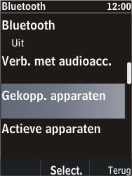 Nokia C2-05 - Bluetooth - Koppelen met ander apparaat - Stap 6