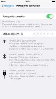 Apple iPhone 6s Plus - Internet et connexion - Utiliser le mode modem par USB - Étape 9