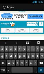 Bouygues Telecom Bs 402 - Internet et connexion - Naviguer sur internet - Étape 5