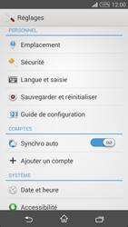 Sony Xpéria T3 - Aller plus loin - Restaurer les paramètres d'usines - Étape 4