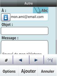 Nokia Asha 300 - E-mail - envoyer un e-mail - Étape 9