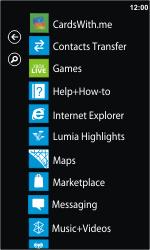 Nokia Lumia 610 - Internet - Internet browsing - Step 2