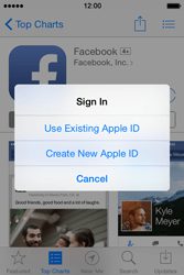 Apple iPhone 4s iOS 8 - Applications - Downloading applications - Step 9