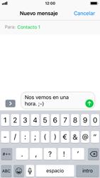 Apple iPhone SE iOS 11 - Mensajería - Escribir y enviar un mensaje multimedia - Paso 8
