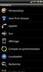 HTC S510e Desire S - Réseau - utilisation à l'étranger - Étape 7