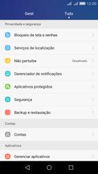 Huawei Y6 - Funções básicas - Como restaurar as configurações originais do seu aparelho - Etapa 3