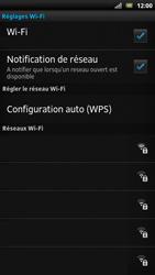 Sony LT22i Xperia P - Wifi - configuration manuelle - Étape 6