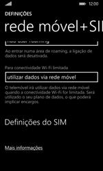 Nokia Lumia 530 - Internet no telemóvel - Como configurar ligação à internet -  6