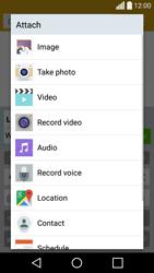 LG H420 Spirit - Mms - Sending a picture message - Step 13