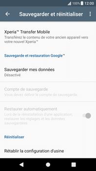 Sony Xperia XA1 Plus - Device maintenance - Retour aux réglages usine - Étape 6