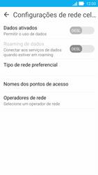 Asus Zenfone 2 - Rede móvel - Como ativar e desativar uma rede de dados - Etapa 7