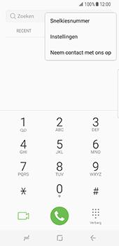 Samsung Galaxy S8 - Voicemail - Handmatig instellen - Stap 5