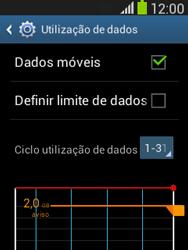 Samsung Galaxy Pocket Neo - Internet no telemóvel - Como ativar os dados móveis -  6