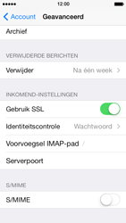 Apple iPhone 5 iOS 7 - E-mail - e-mail instellen: IMAP (aanbevolen) - Stap 24